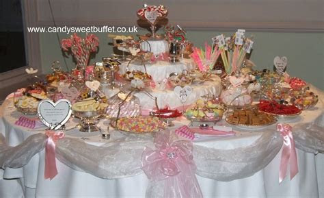Candy Sweets Buffet Table Hire for Asian Weddings