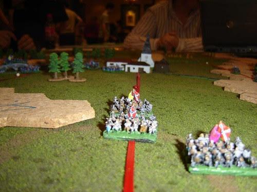 Ewell advances on Reynolds in Gettysburg