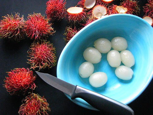 rambutan and lime juice