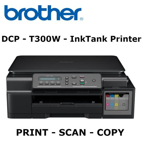 brother dcp  colour multifunction ink tank printer