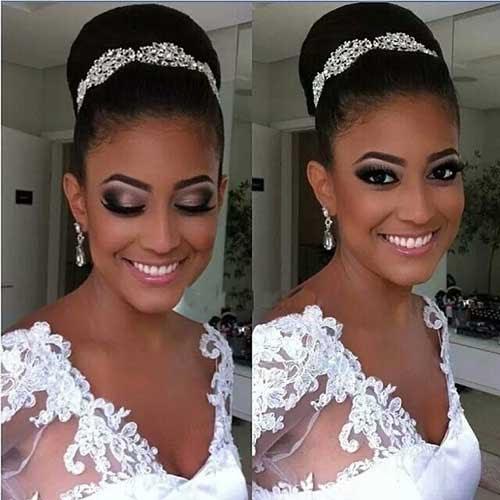 25 Good Bun Wedding Hairstyles   Hairstyles