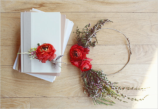 DIY Flower feature with Petal