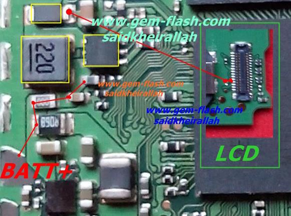 Lenovo A516 Cell Phone Screen Repair Light Problem Solution Jumper Ways