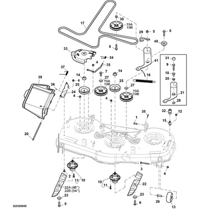 John Deere Z445 Parts Diagram Free Wiring Diagram