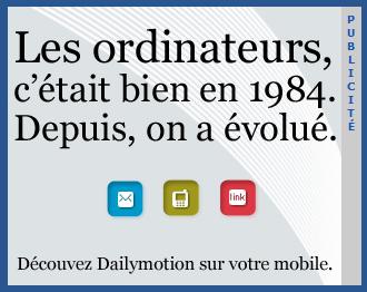 Pub Dailymotion mobile
