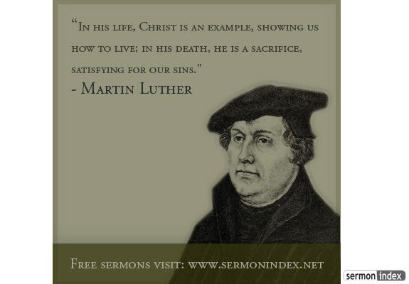 Martin Luther Quote Sermon Index