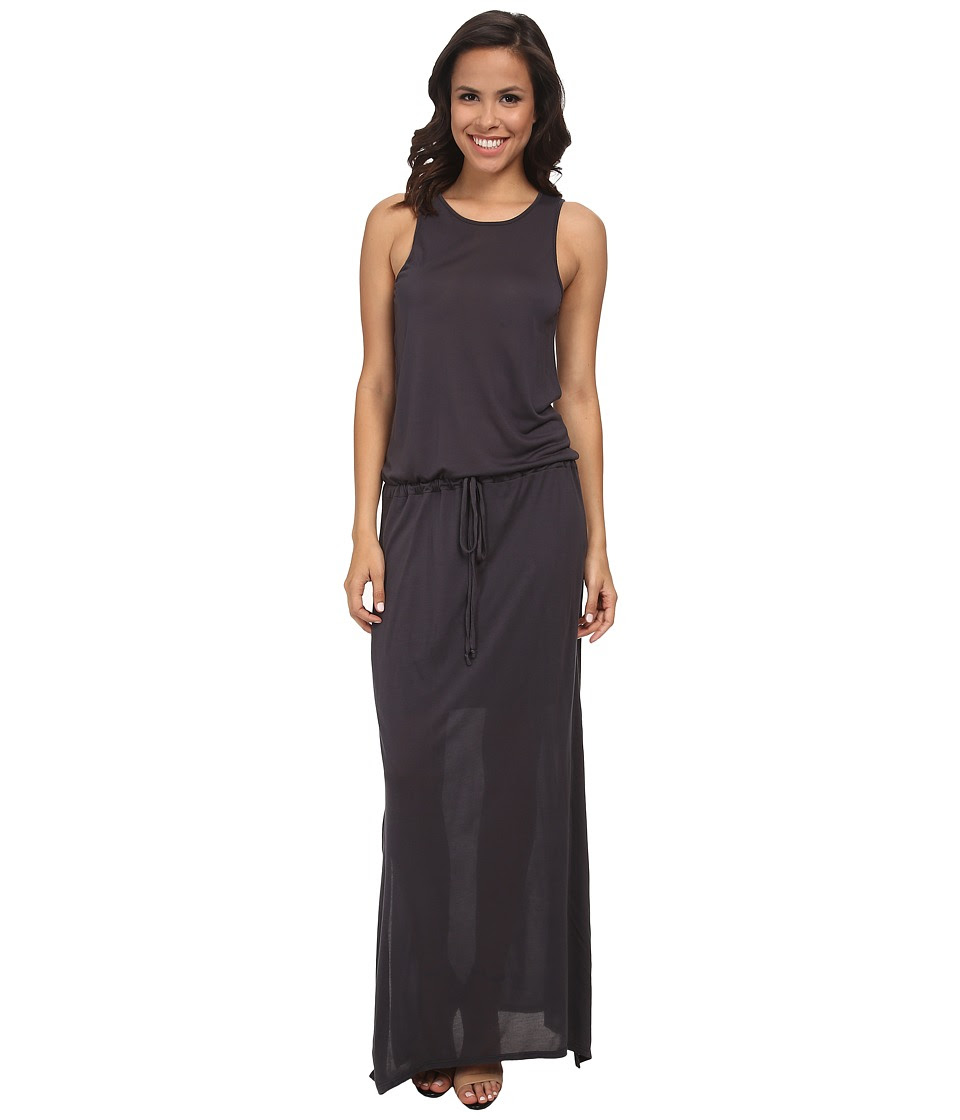 Michael Stars - Collection Drawstring Waist Tank Maxi Dress (Oxide) Women's Dress