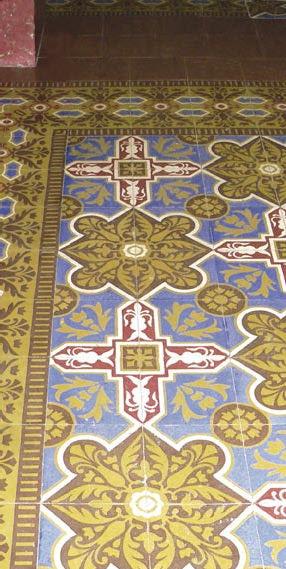 Cuban Tile Installation
