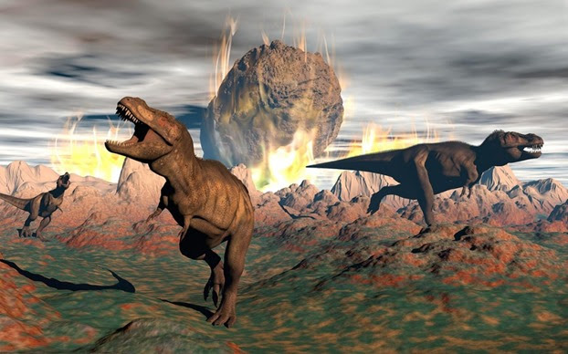 «Κακή σύμπτωση» η εξαφάνιση των δεινοσαύρων