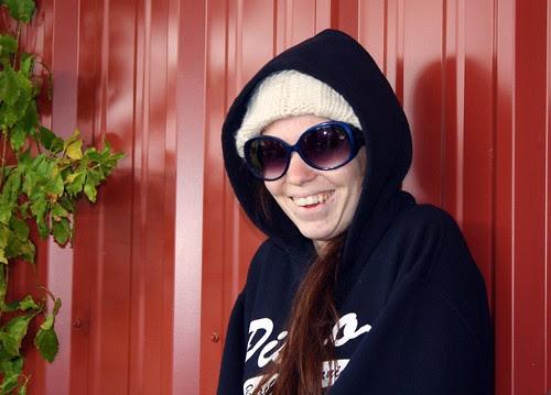 a cold monkey girl