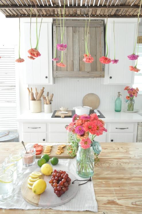 Becky's Farmhouse-Summer Entertaining