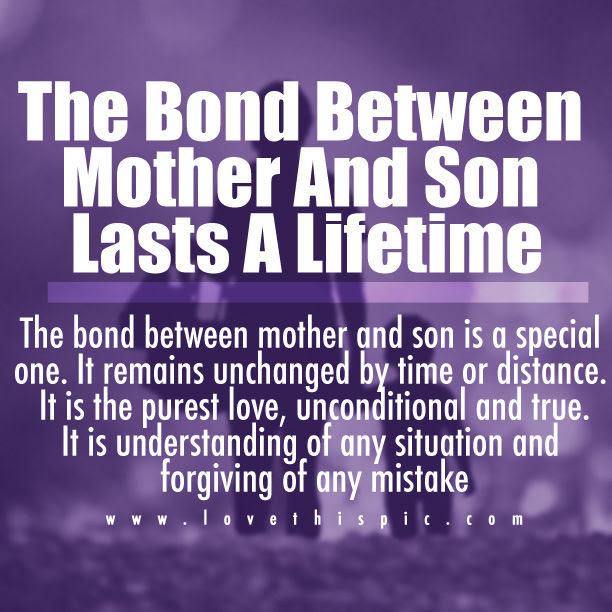 The Bond Between Mother And Son Pictures, Photos, and