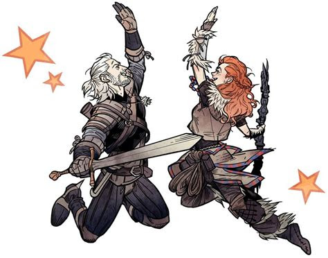 cosplayers recreate witcher  horizon  dawn love
