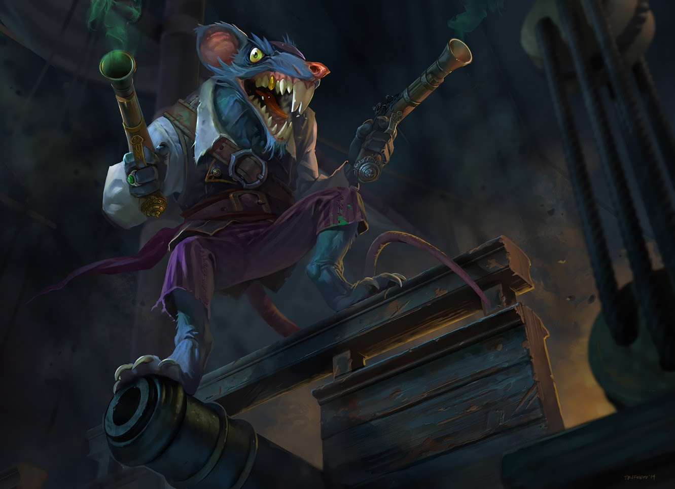 Pirate Twitch Wallpapers Fan Arts League Of Legends Lol Stats