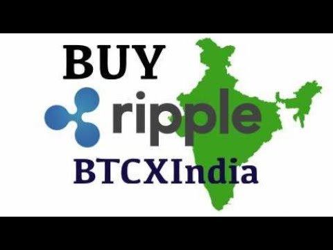 How to buy Ripple in India from BTCXIndia