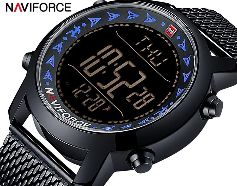 Comprar Reloj Digital LED De Marca NAVIFORCE Para Hombre 85d370ad82ac