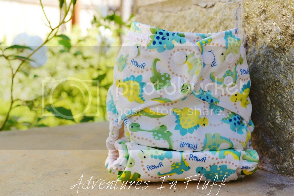 Mommy Loves Maddy One-Size Organic Bamboo Pocket Diaper with Bamboo Insert
