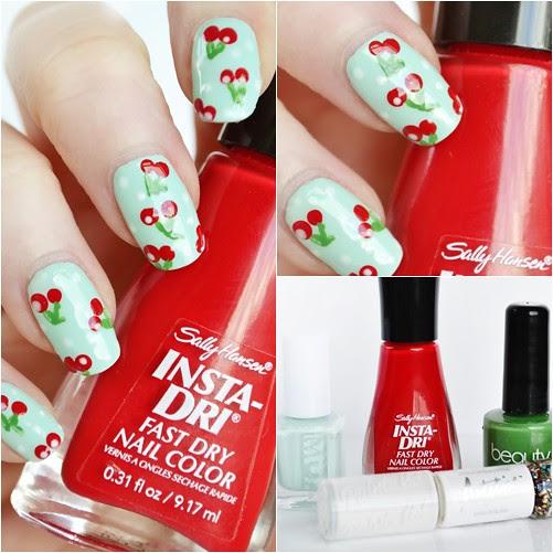 Cherry_nail_art