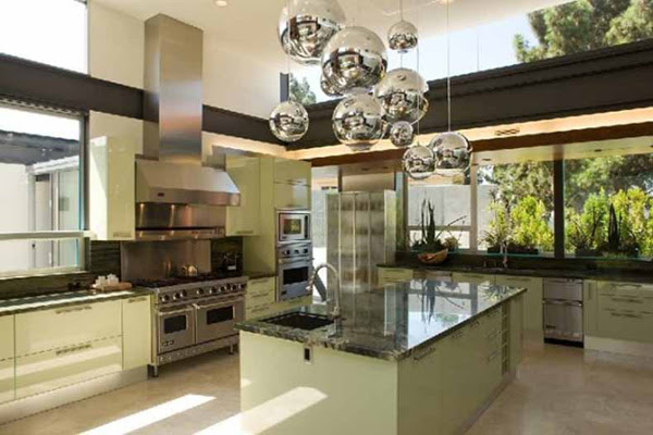 Modern House Kitchen Design Lake
