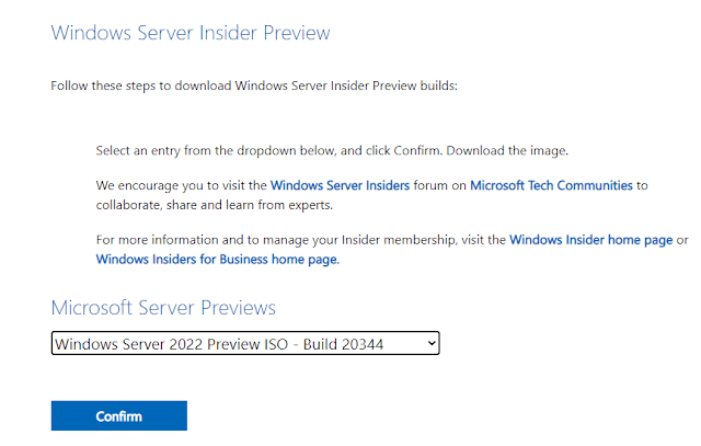 New Windows Server 2022 Container Image Preview Install