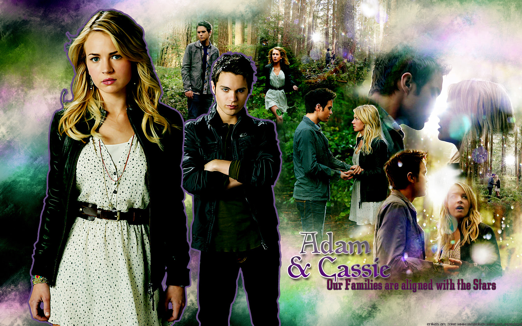 Cassie & Adam - the-secret-circle-tv-show wallpaper