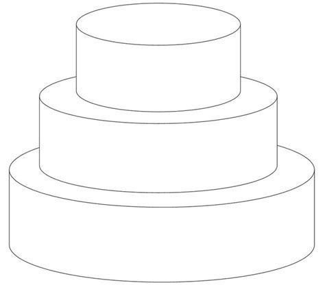 Pictures: Cake Drawing Template,   DRAWING ART GALLERY
