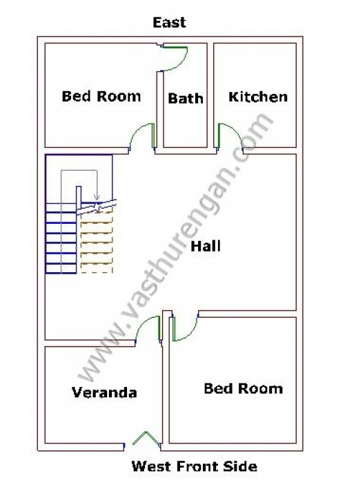 32+ Famous House Plan Design West Facing Per Vastu