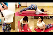 Zareen Khan Yoga Workout Video
