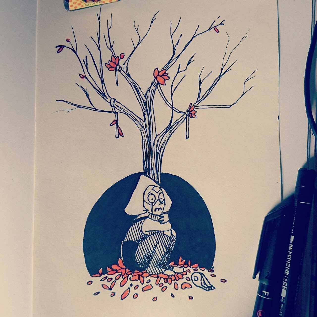 Day 7 of inktober! You can see the rest of the days so far on my instagram.