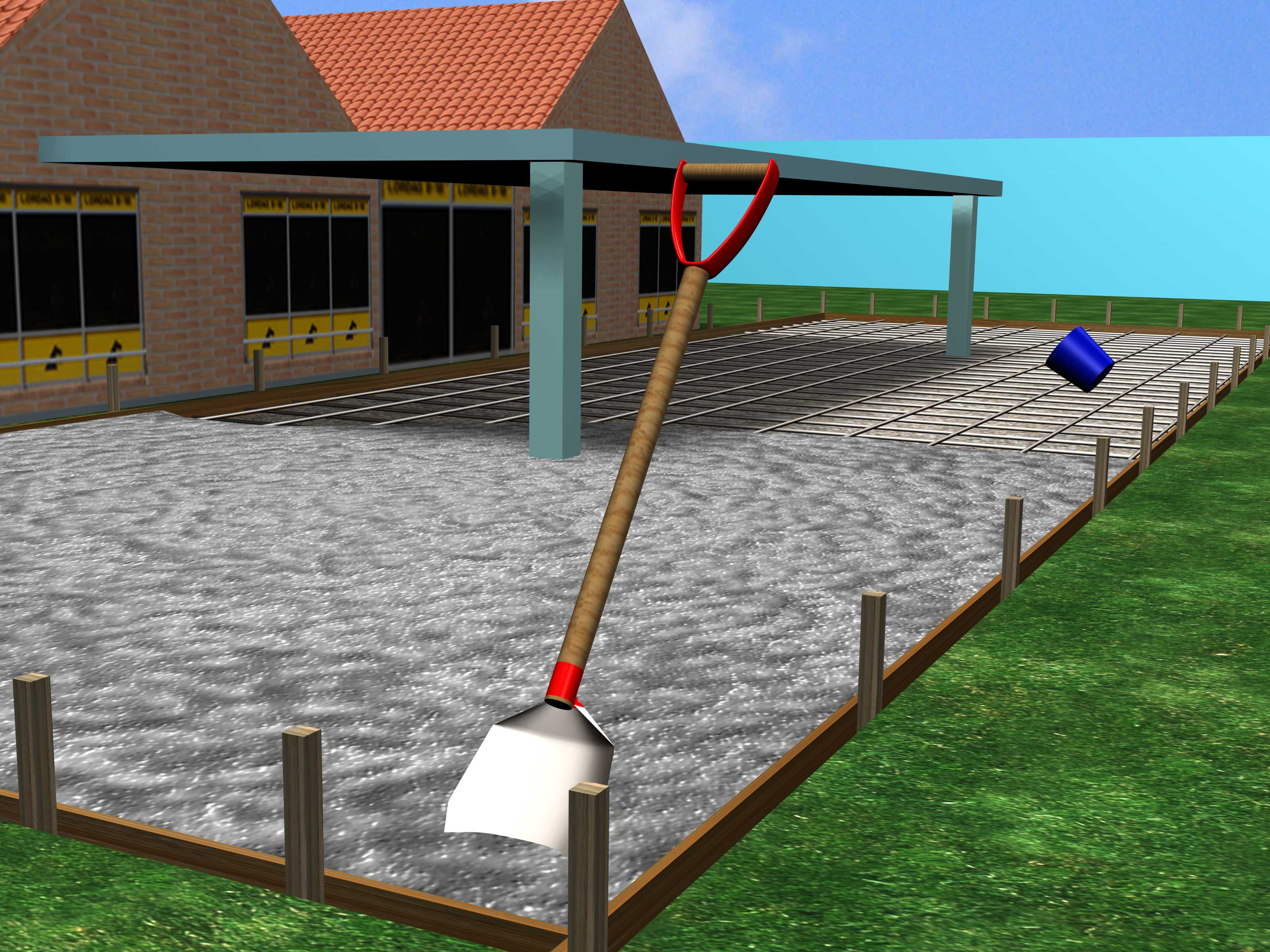 How to Pour a Concrete Patio (with Pictures) - wikiHow