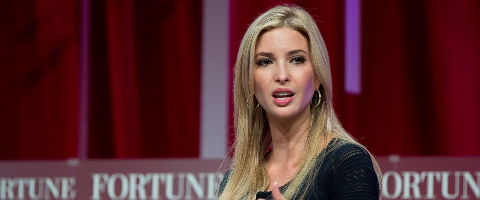 PHOTO: Ivanka Trump, daughter of Republican presidential candidate Donald Trump, speaks at the Fortune Most Powerful Women Summit, Wednesday, Oct. 14, 2015, in Washington.