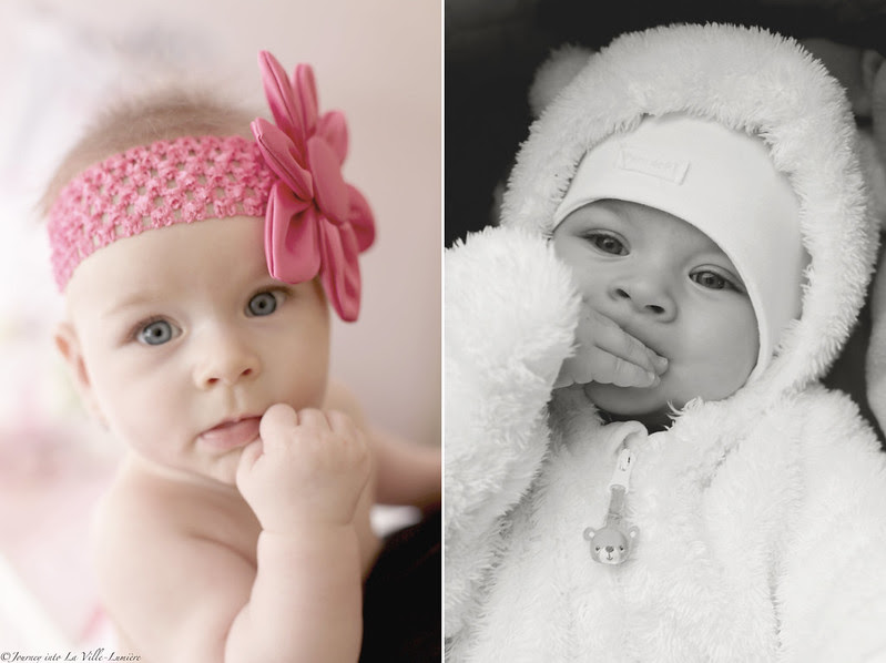 Baby girl photo shoot