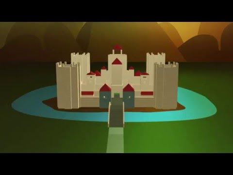3D Animation - Lego Fortress