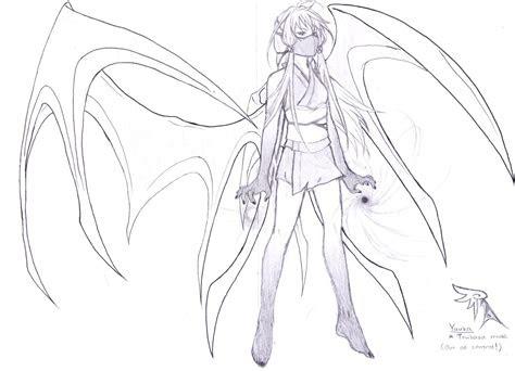 anime demon drawing  getdrawingscom   personal