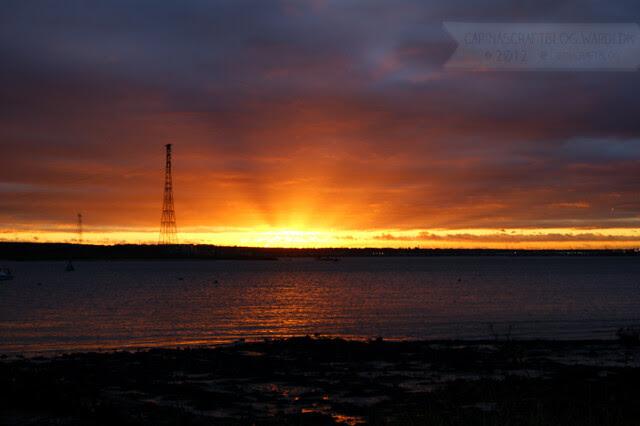 Sunset, December 7 2012 - 5