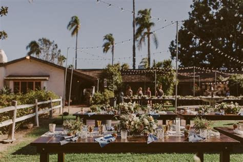 This Rancho Buena Vista Adobe Wedding Took Cues From the