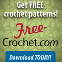 Free crochet patterns - download today!