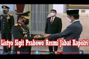 Jenderal Listyo Sigit Prabowo Resmi Jabat Kapolri
