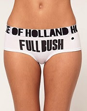 House of Holland Full Bush Cheeky Short