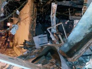 Explosáo em Quijingue na Bahia 1 (Foto: Divulgação/Polícia Civil)