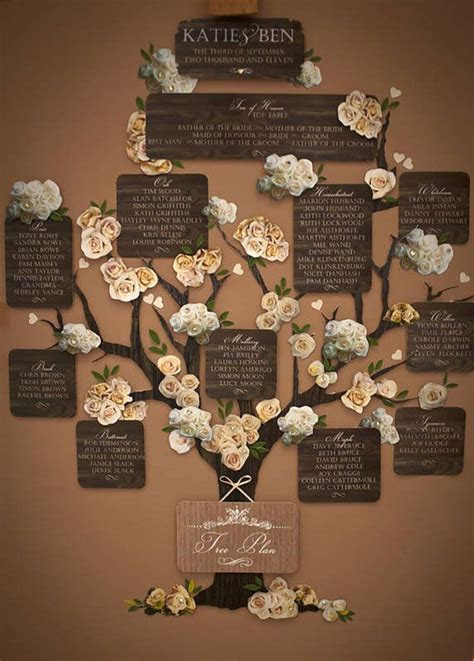Wedding Seating Chart   Creative Wedding Ideas   Wedding