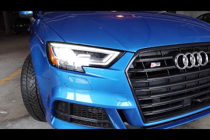 2017 Audi S3 Ara Blue