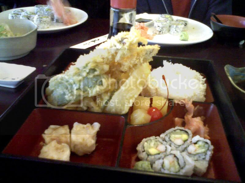 Bayridge Sushi Shrimp Tempura Bento Box