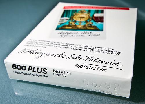 Polaroid 600 Plus Film