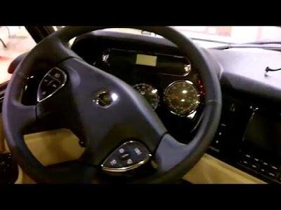At the 2011 Detroit Fall RV Show: 2012 Monaco Vesta 35 PBD