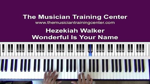 Wonderful Is Your Name Lyrics By Hezekiah Walker