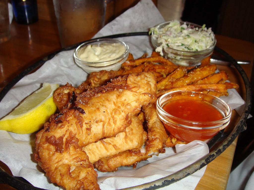 Fish & Sweet Potato Chips