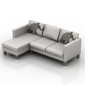 L Sofa Design 3d Max Model Free (3ds,Max) Free Download ...