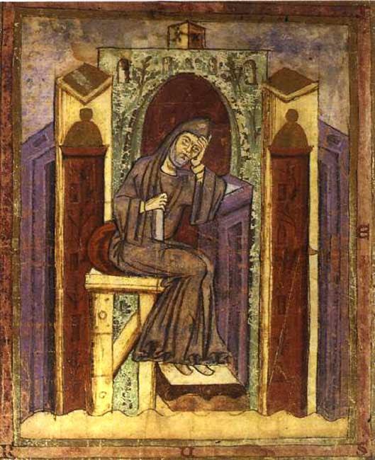 IMG ST. NOTKER BALBULUS, Monk