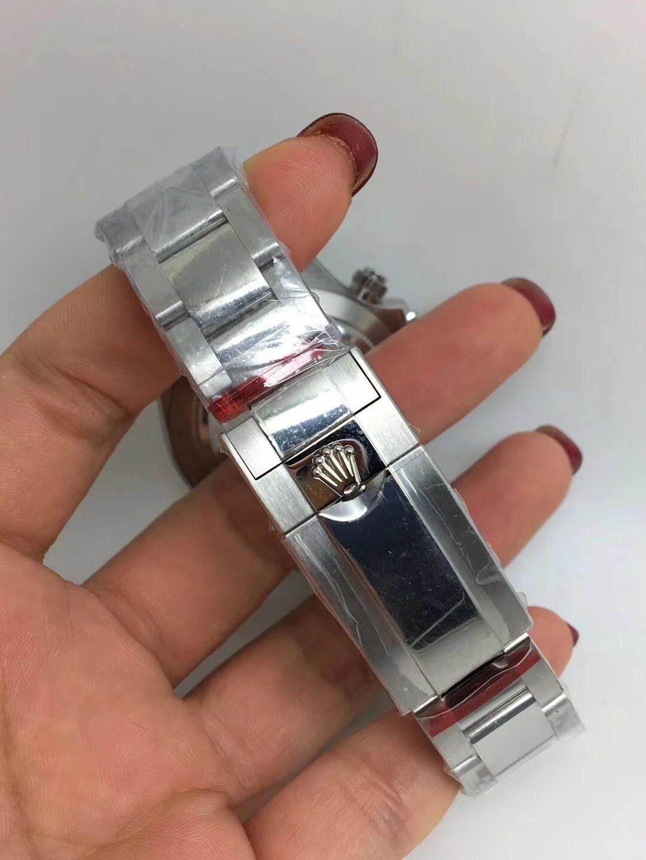 Noob Replica Rolex Daytona 116520 SS Black_8